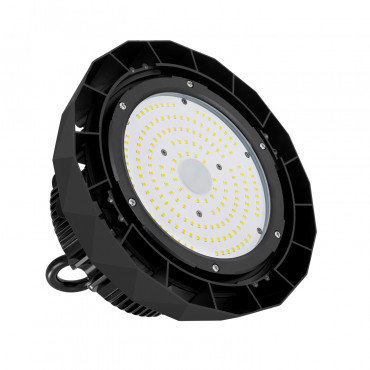 Cloche LED UFO HBS Samsung, noire, 200W, IP65, dimmable