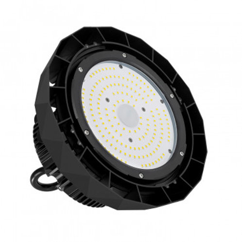 Cloche UFO LED Samsung dimmable noire, IP65, 150W