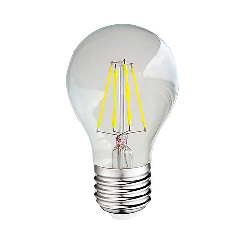 Ampoule LED COB E27, bulbe filament, 6W