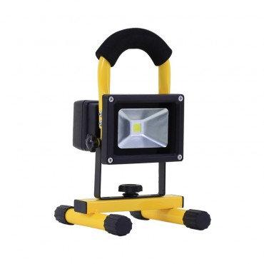 Projecteur LED, portatif et orientable, IP44, 10W