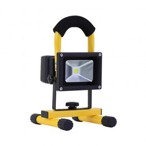 Projecteur LED, portatif et orientable, IP44, 20W