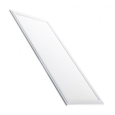 Dalle LED SMD rectangulaire cadre blanc, UGR19, 72W