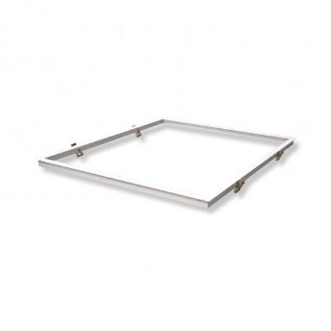 Kit d'intégration encastrable pour dalle LED 600x600mm, finition blanc