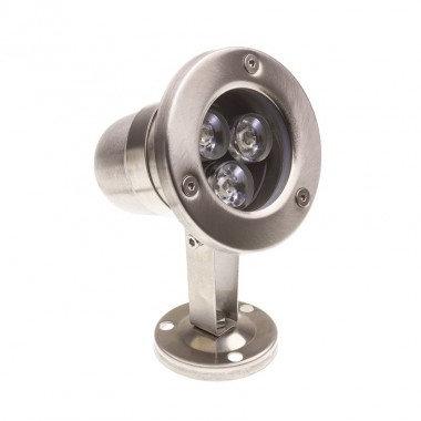 Spot extérieur LED extérieur, 3W, IP68