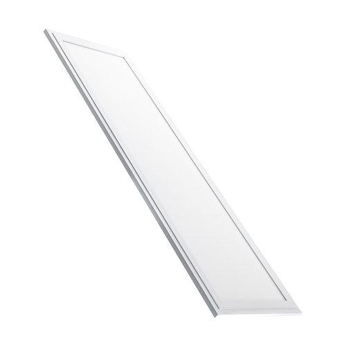 Dalle LED SMD rectangulaire cadre blanc, éclairage double face, UGR19, 32W