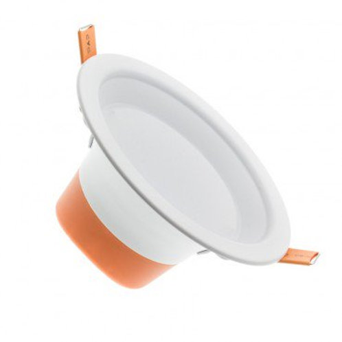 Downlight LED Lux cadre blanc, UGR 19, 10W