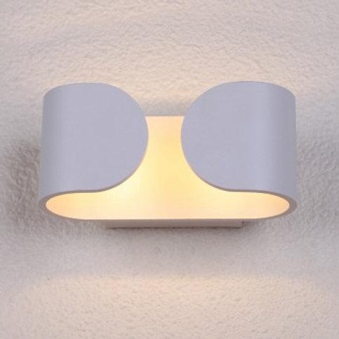 Applique murale LED blanche, 6W