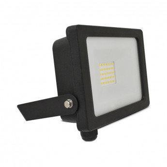Projecteur LED extérieur cadre noir, 20W