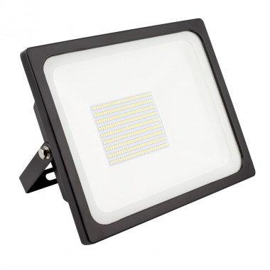 Projecteur LED Philips SMD extérieur cadre noir, 100W