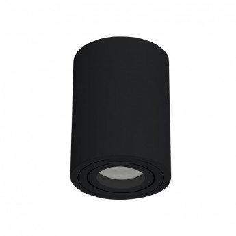 Applique cylindrique noire