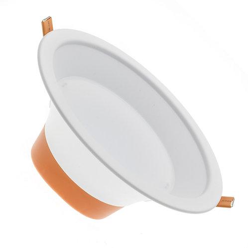 Downlight LED, cadre blanc, 16W, UGR 19