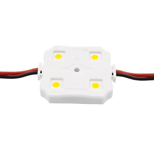 Chaîne de 20 modules carrés de 4 LEDs SMD5050
