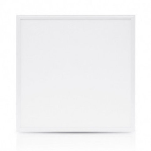Dalle LED carrée cadre blanc, 36W, IP65