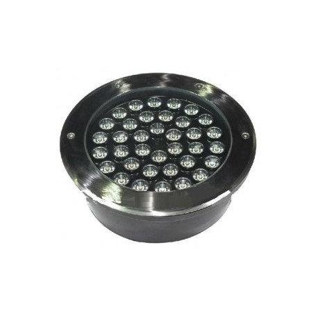 Balise LED extérieure de sol, encastrable,cadre gris anthracite, 36W, IP67