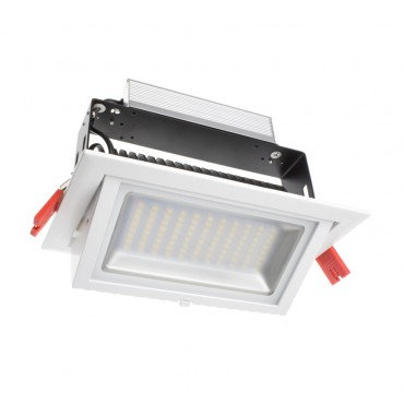 Projecteur encastrable LED Samsung, cadre blanc, 48W