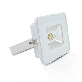 Projecteur LED extérieur cadre blanc, extra-plat, 10W