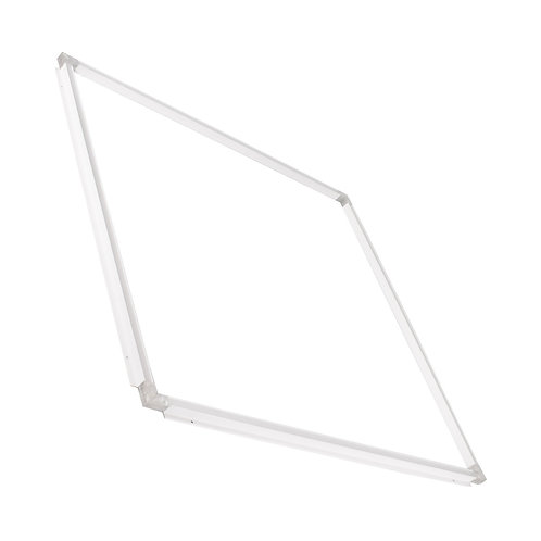 Dalle LED SMD carrée cadre lumineux blanc, 40W