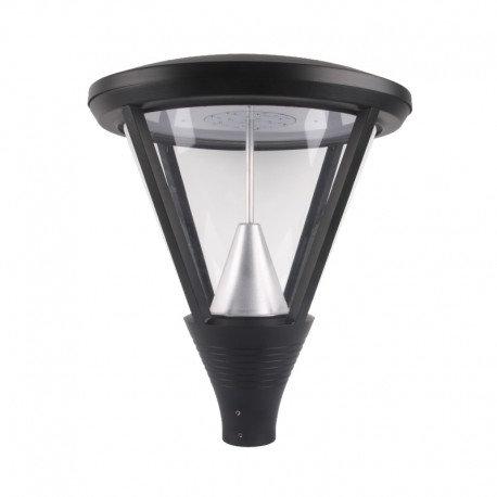 Lampadaire LED YS5 extérieur gris anthracire, 60W
