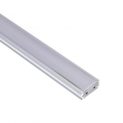 Profilé translucide avec ruban LED Aretha 5W, dimmable