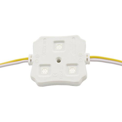 Chaîne de 20 modules carrés de 3 LEDs SMD5050