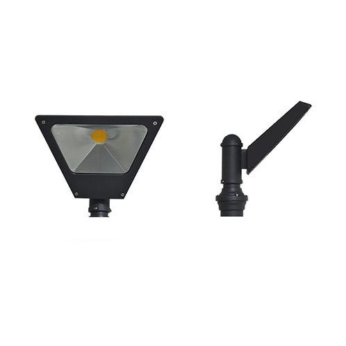 Lampadaire LED COB extérieur cadre gris anthracite, 10W
