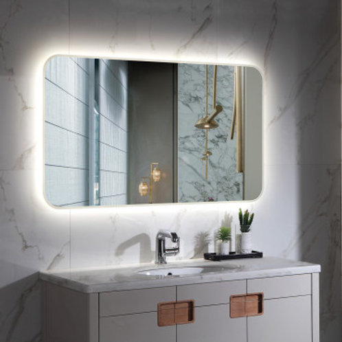 Miroir LED SMD2835 rectangulaire, 80W