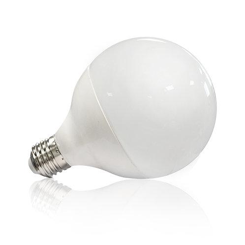 Ampoule LED E27, globe dépolie, 20W