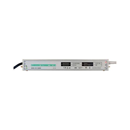 Bloc d'alimentation pour bandeau LED, 12V DC, 40W