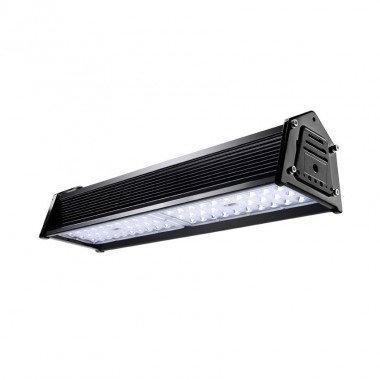 Cloche linéaire LED noire dimmable, IP65, 90W