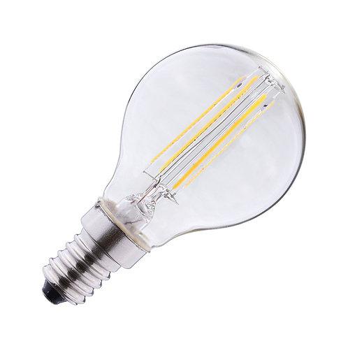 Ampoule LED E14, bulbe filament, 4W