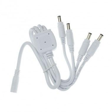 Câble de connexion pour profilé Aretha, 4 connecteurs mâles, 0,5m