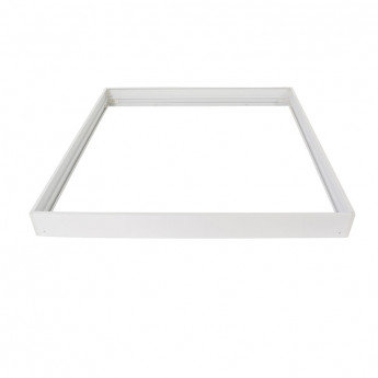 Kit d'intégration en saillie pour dalle LED 600x600mm, finition blanc
