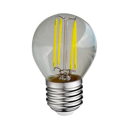 Ampoule LED COB E27 G45, bulbe filament, 4W