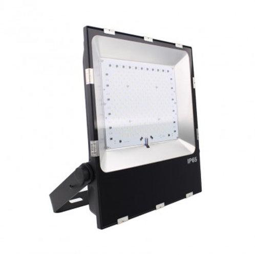 Projecteur LED Philips Luxéon extérieur cadre noir, extr-plat, 100W