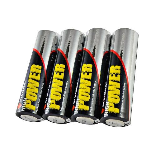 Pack de 4 piles 1,5V LR6 AA