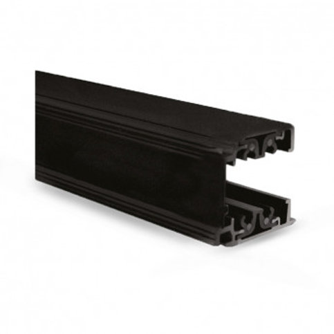 Rail triphasé noir pour spots LED, 3000mm