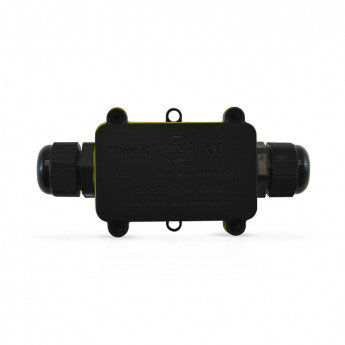 Boite de dérivation étanche 2 entrées, dim. 135x57x37mm, IP68