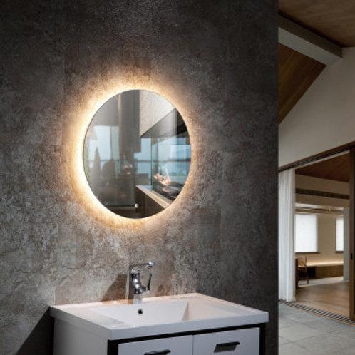 Miroir LED SMD2835 rond, 35W, température de couleur sélectionnable