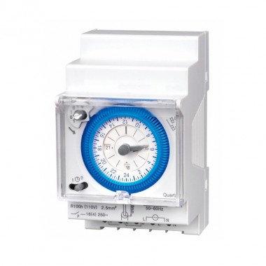 Horloge journalière analogique