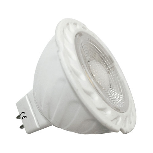 Ampoule LED COB GU5,3 angle 75°, 5W, 4000°K, dimmable