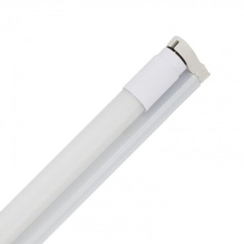 Tube LED T8 nano avec réglette, long. 1200mm, 18W