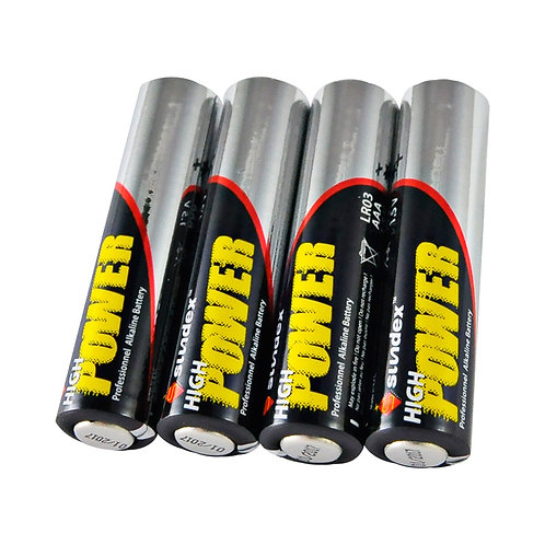 Pack de 4 piles 1,5V LR3 AAA