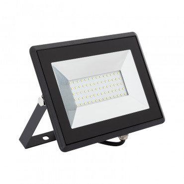 Projecteur LED extérieur, cadre noir, 50W, IP65