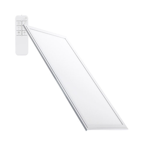 Dalle LED SMD rectangulaire cadre blanc, dimmable, 32W