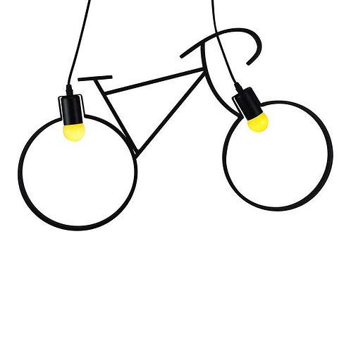 Lampe suspendue bicyclette