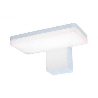 Applique murale LED rectangulaire blanche, 12W