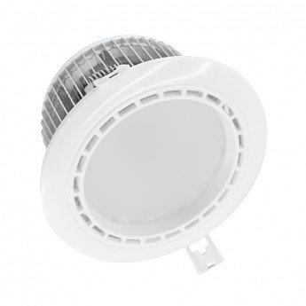 Spot LED, cadre blanc, fixe 4 zones, 13W, RGB