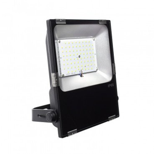Projecteur LED extérieur cadre noir, 60W