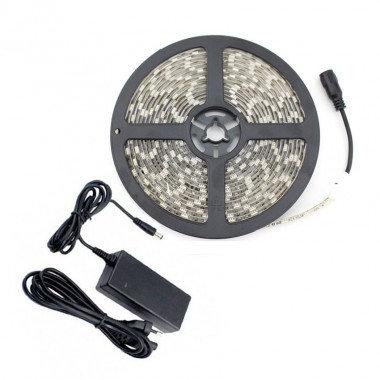 Ruban LED SMD5050, 48W, 12V DC, IP20, avec bloc d'alimentation