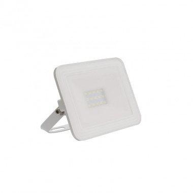 Projecteur LED SMD crystal extérieur cadre blanc, extra-plat, 10W